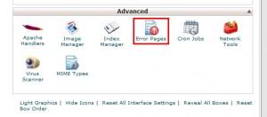 WebHostingPad主机自定义错误页面教程